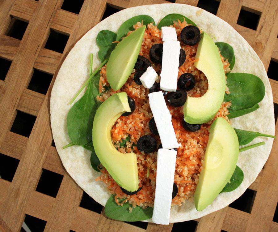 quinoa salat opskrift