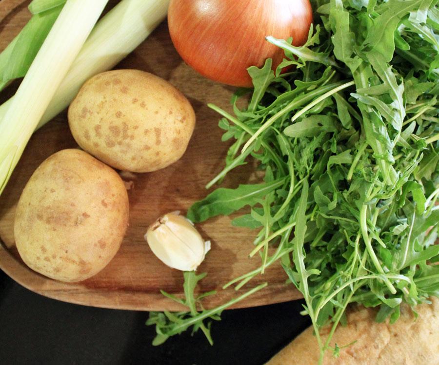 kartoffel porre suppe sund