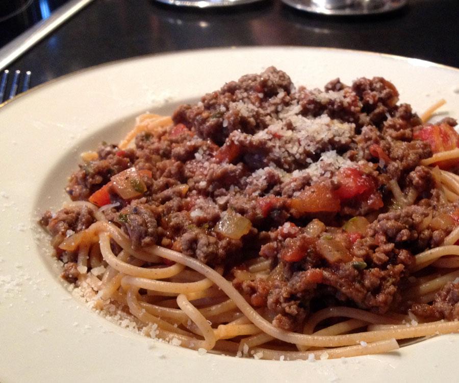 pasta og kødsovs opskrift